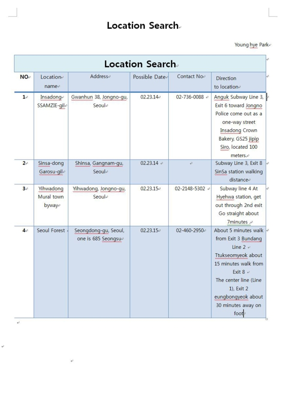 location search_capture